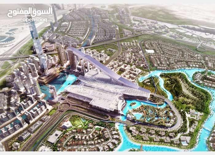 for sale apartment consists of Studio Rooms - Mohammad Bin Rashid City