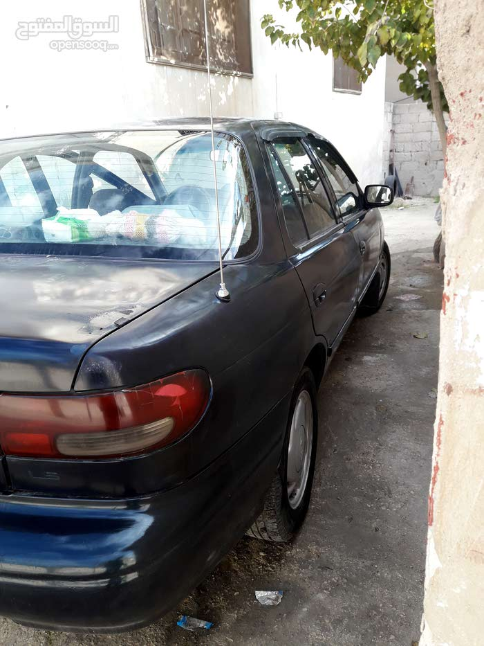 Blue Kia Sephia 1996 for sale