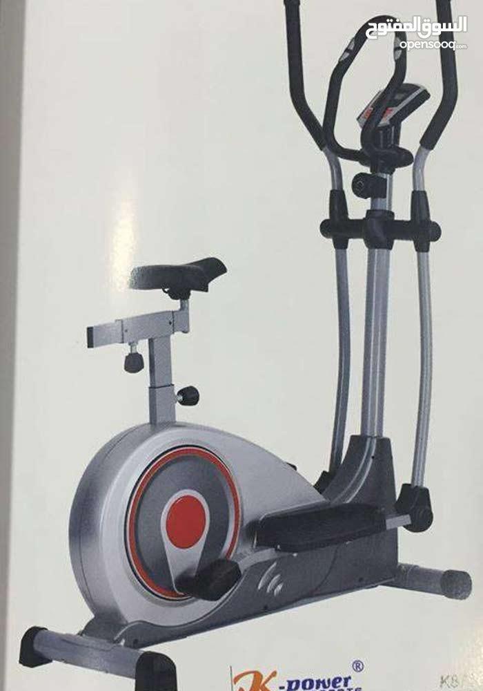 جهاز كروس رياضي بقدرة تحمل عالية ومواصفات عالمية  نوع world fitness