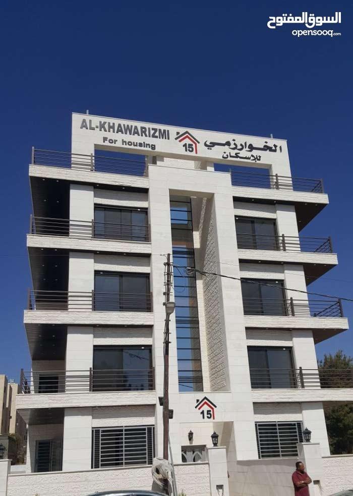 للبيع شقة طابق 3 * يمين * في مرج الحمام -دوار المرزوق