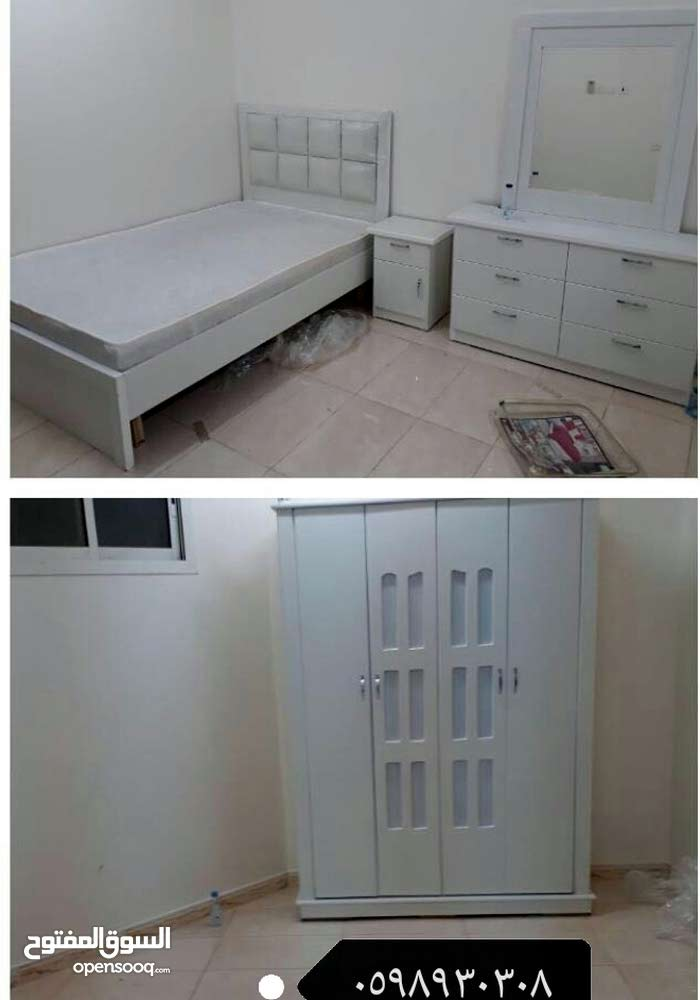 غرف نوم وطني نفرين جديده من المصنع لباب بيتك