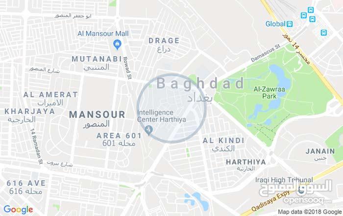 السلام عليكم قطعه ارض 165 متر واجه 8،5 حي المتنبي المنصور قرب مول المنصور  سعر