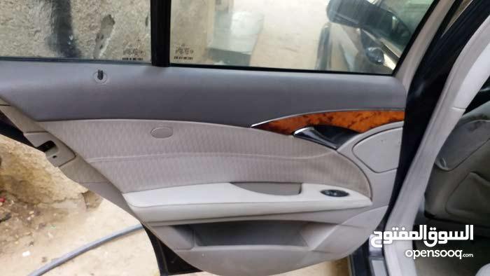 سيارة مرسيدس غواصه بحالة الوكالة