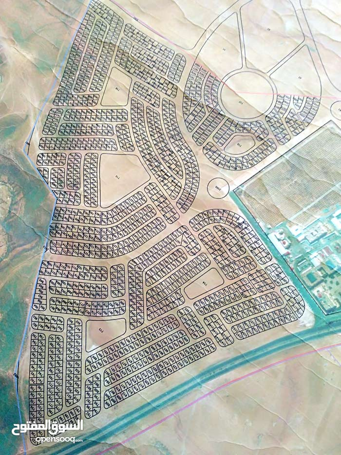 ارض 550م للبيع في الغباوي حوض جامعة الزرقاء الخاصة