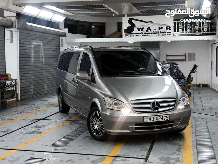 Beige Mercedes Benz V Class 2011 for sale - (102567702)   Opensooq