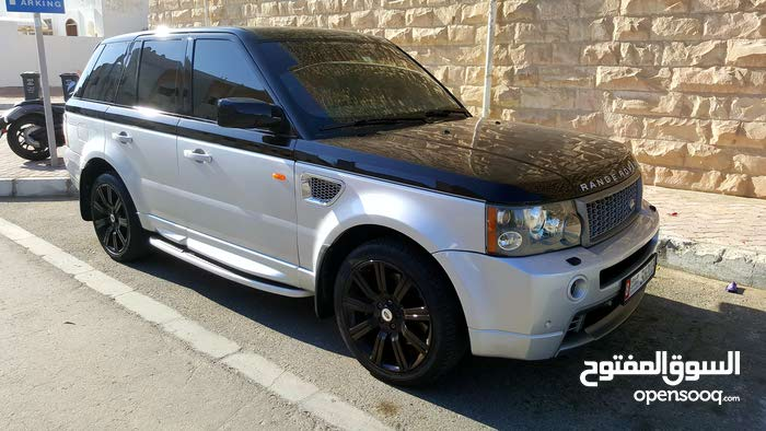 Range Rover sport Supercharged, modified