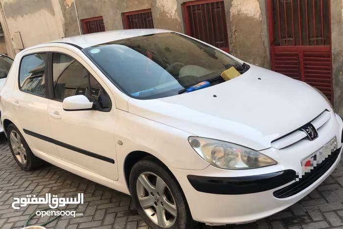 للبيع بيجو 307  موديل 2006 مؤمنه ومسجلة شهر نوفمبر