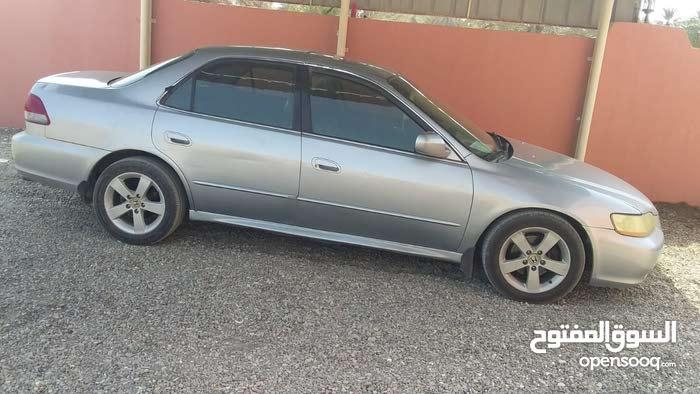 Honda Accord 2002 For sale - Silver color
