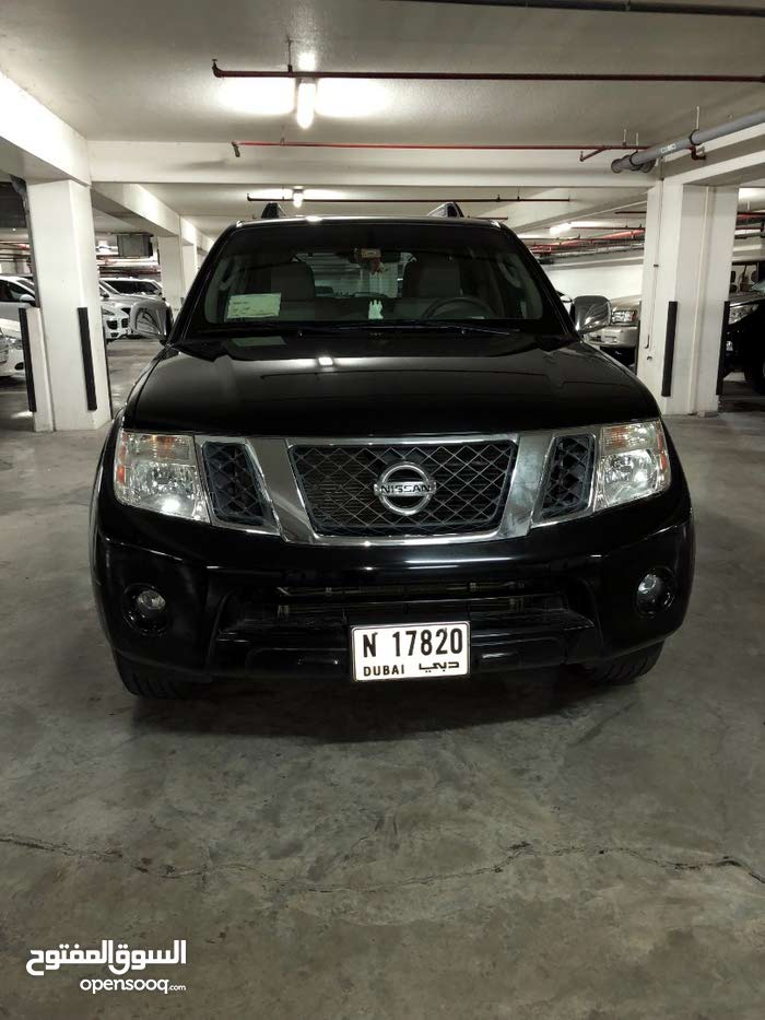 Agency maintained Nissan Pathfinder 2012 in excellent condition