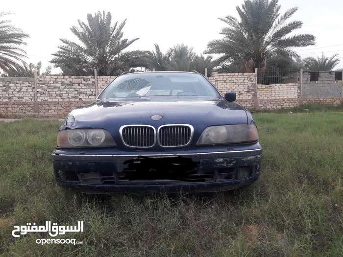 BMW 528i محرك مشاء ألله مش مفتوح فيه شي دبل كنميو