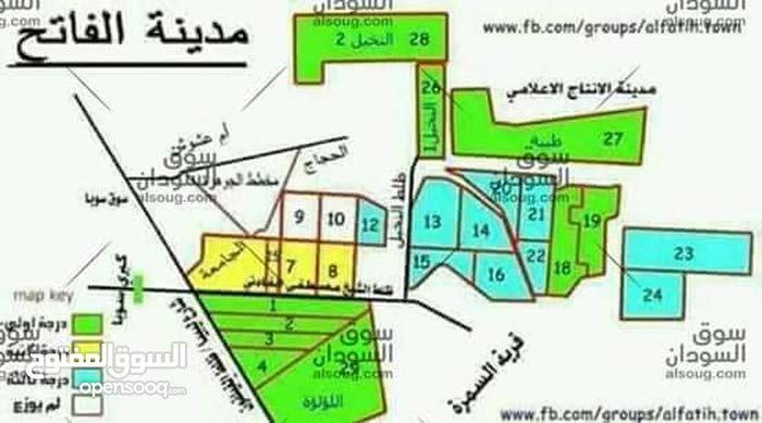 مدينة الفاتح النخيل2 مربع 28 رقم 815 مساحة 200م في ظلط