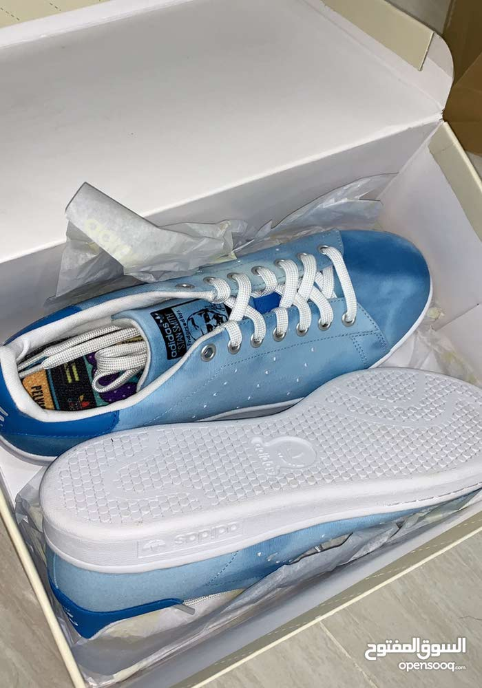 outlet store 70ba1 59b76 Adidas Pharrell Williams Holi Stan Smith Shoes! جوتي أديداس