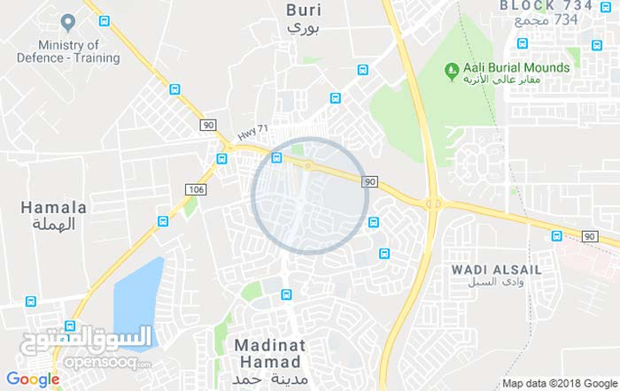 flat for rent in  Hamad town roundabout 1