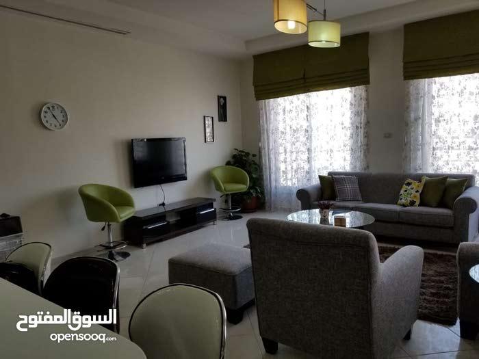 شقة جديدة لم تسكن مفروشة بالكامل للايجار - جبل عمان