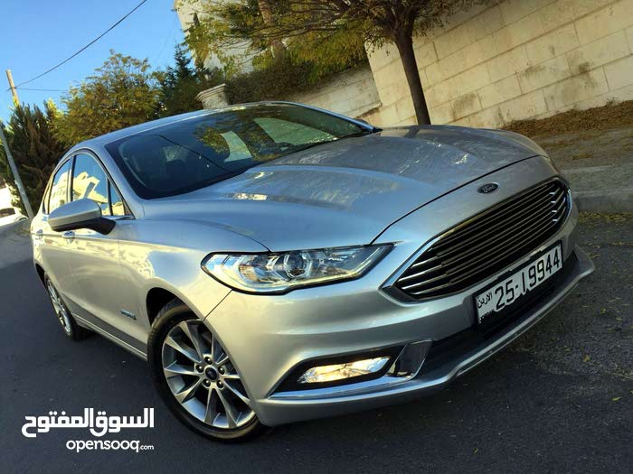 Silver Ford Fusion 2017 for sale
