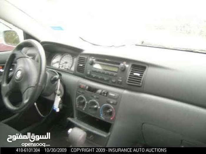 Gasoline Fuel/Power   Toyota Corolla 2008