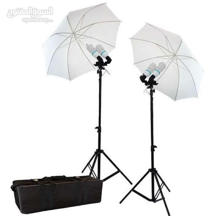 Godox  معدات اضاءة استديو استاندات ومظلات وفلاشات