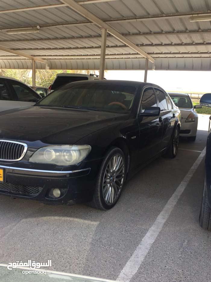 BMW 740 2006 For sale - Black color