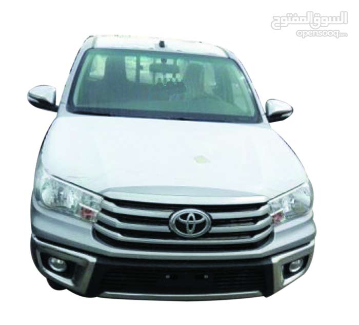 Silver Toyota Hilux 2016 for sale