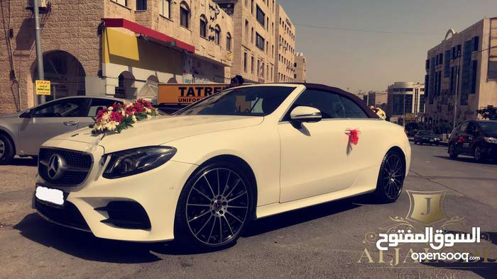 Mercedes Benz E 200 in Amman for rent