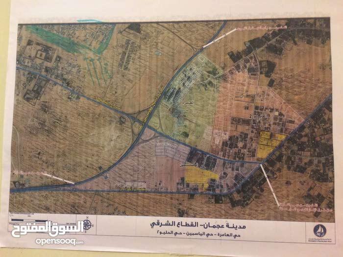 ارض للبيع في قرية الاتحاد بمخطط مجهز يالشوارع والخدمات *****