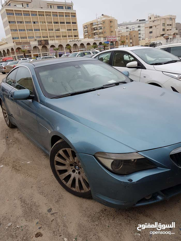 BMW 630 car for sale 2007 in Hawally city