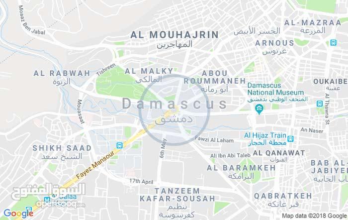 للبيع شقة في معربا ريف دمشق حارة الفستقة طابو اخضر