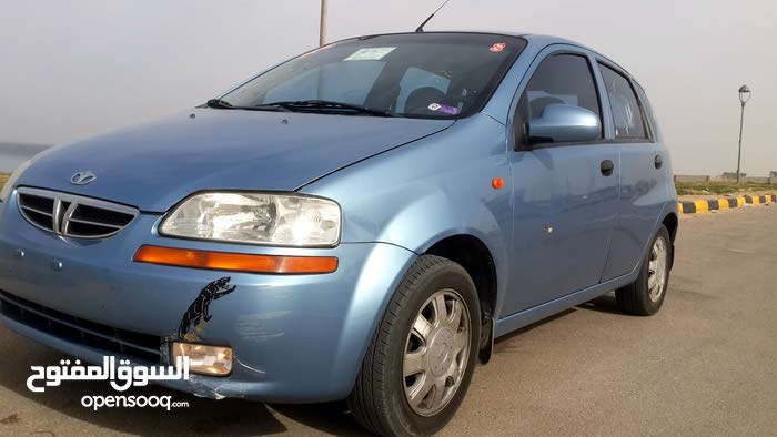 Automatic Blue Daewoo 2003 for sale