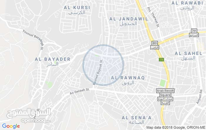 apartment in Amman 8th Circle for rent