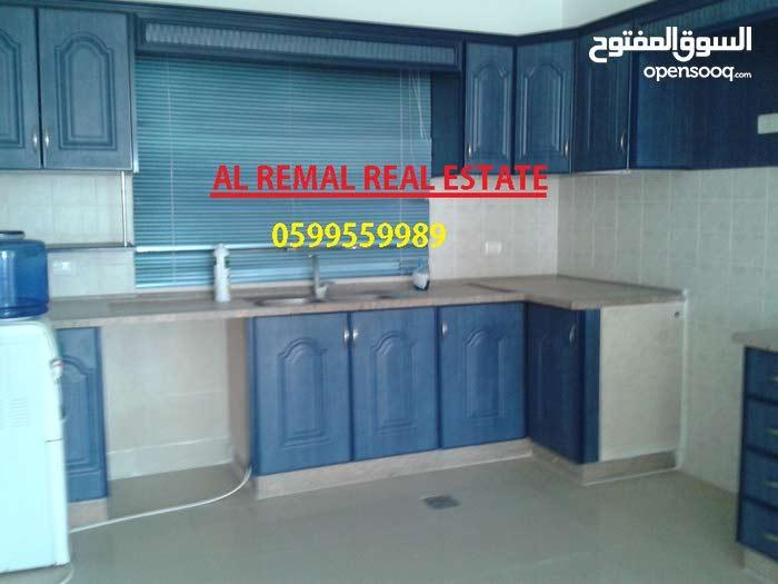 للبيع شقة 185 متر شمالي غربي بمنطقة راقية غزة الرمال