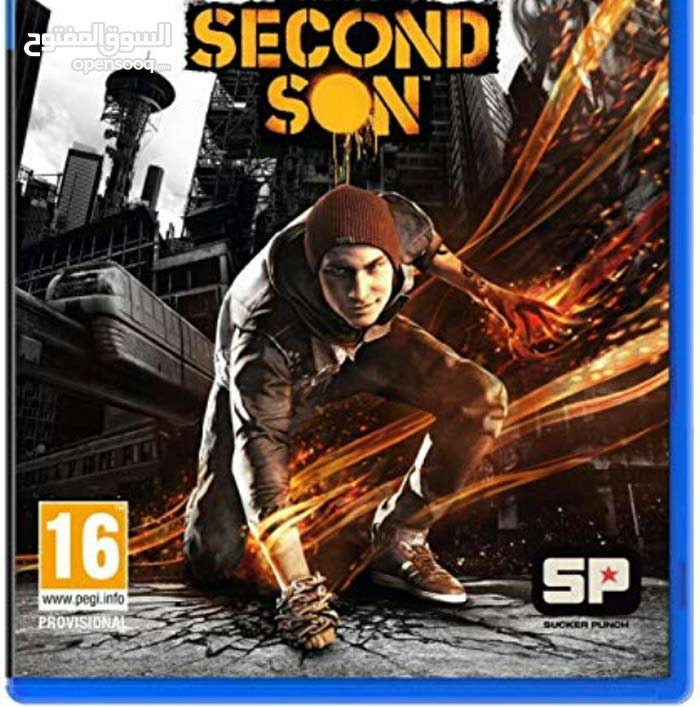 ps4 second son ....لعبة انفيماس سيكند سون بلايسايشن5