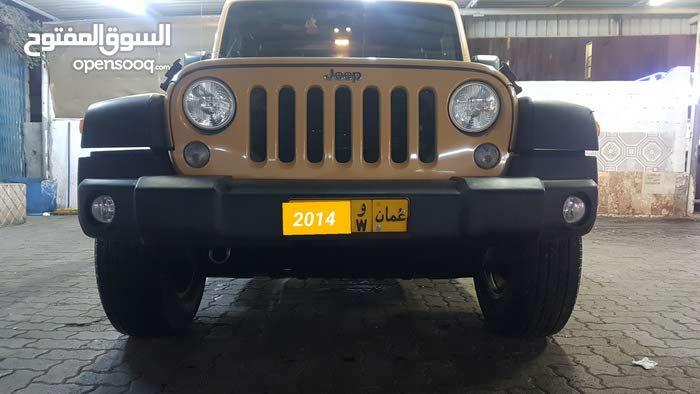 Jeep Wrangler 2014 For sale - Orange color