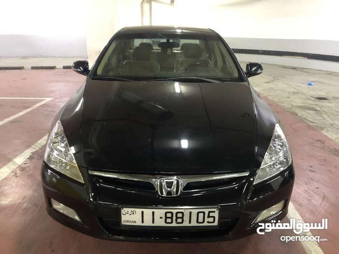 Automatic Black Honda 2007 for sale