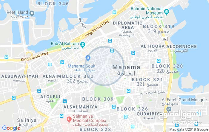 semi  furnished  flat  for  rent  in  Manama   near  to 24 hours supermarket