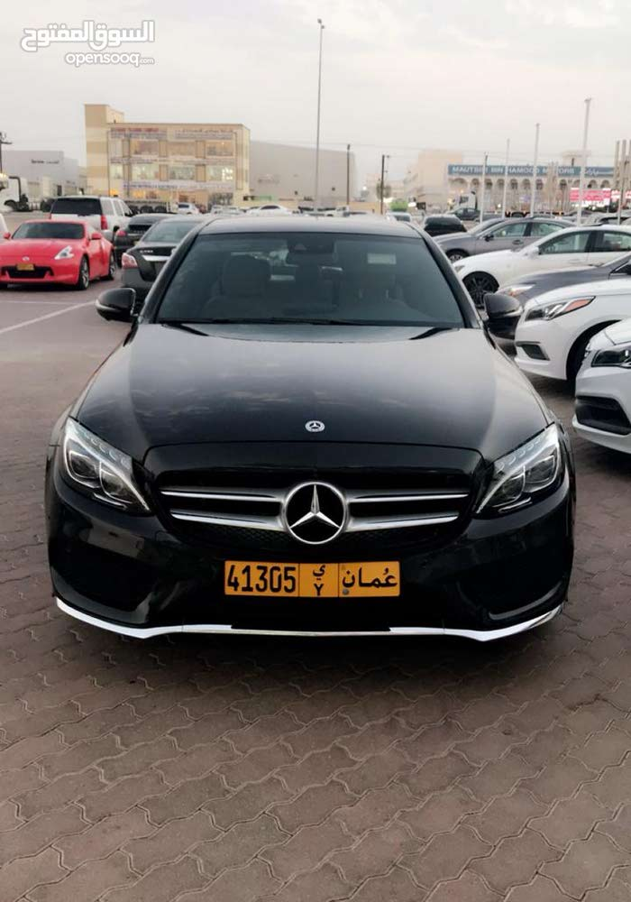 Mercedes Benz C 300 2018 For sale - Black color