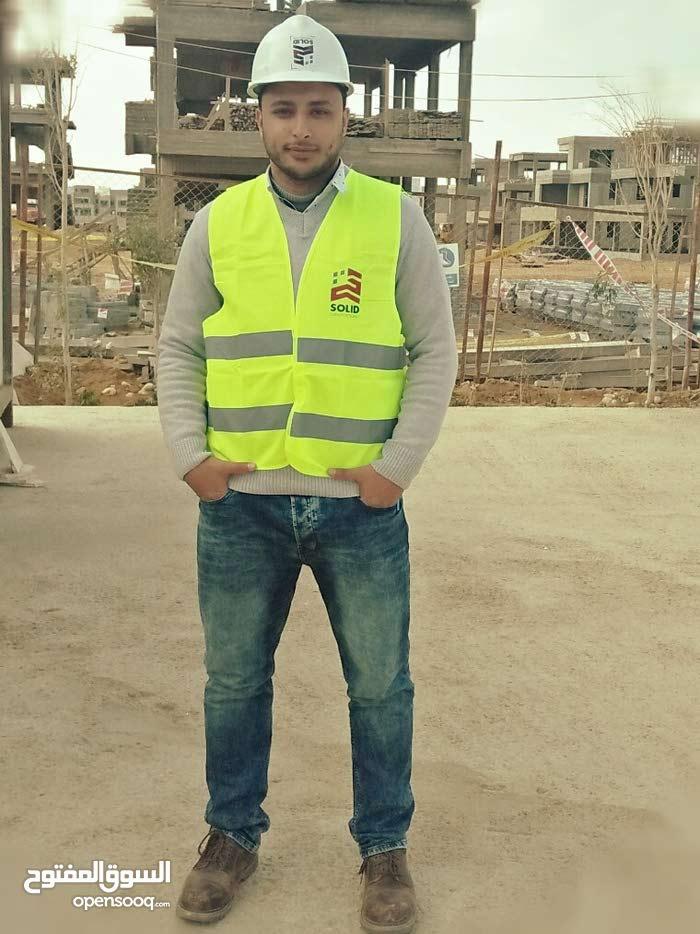 مهندس مدني خبره عامين