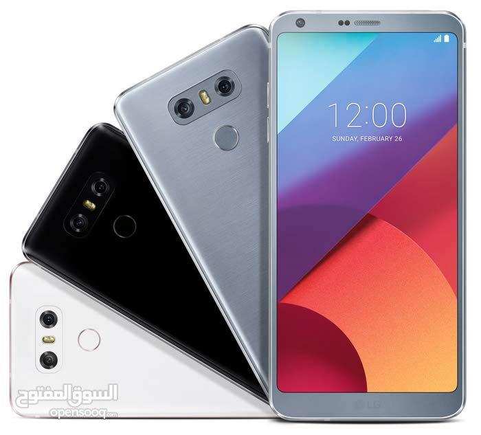 هاتف lg g6 شبه جديد