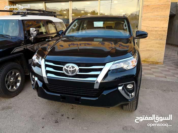Toyota Fortuner 2018 For Rent - Black color