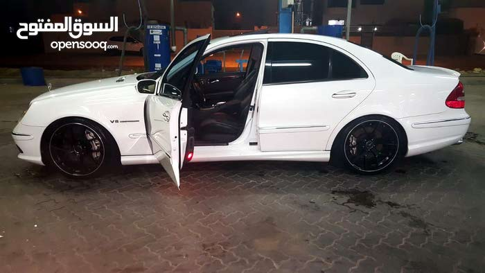 Used condition Mercedes Benz E55 AMG 2004 with  km mileage