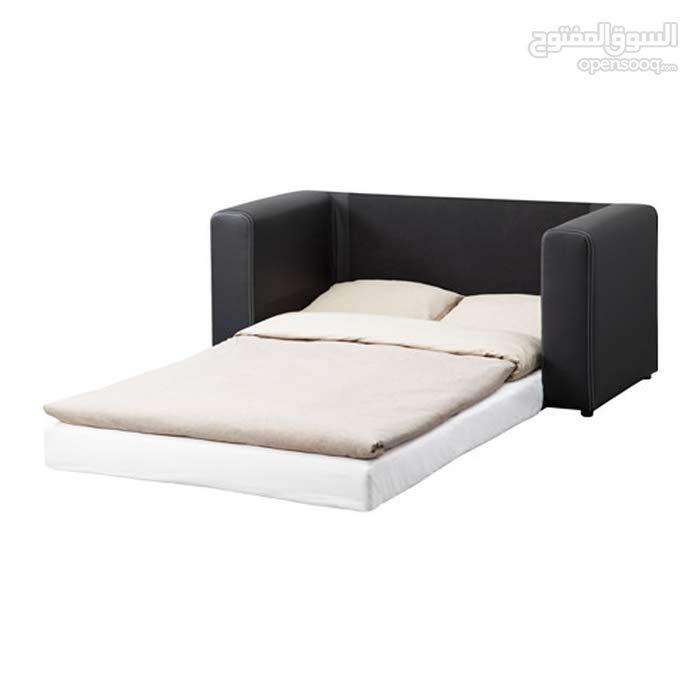صوفا مقعدين يتحول إلى سرير