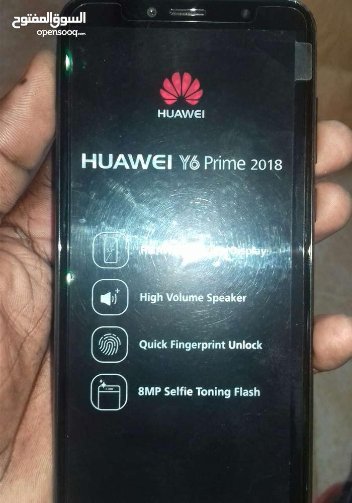 هواوي واي 6 برايم 2018