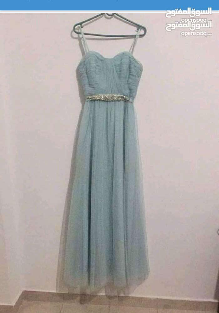 فستان فيروزي
