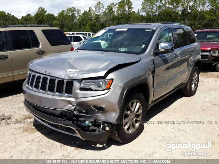 For sale 2016 Silver Cherokee