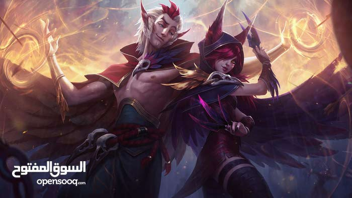 league of legends gold account with 30 skin
