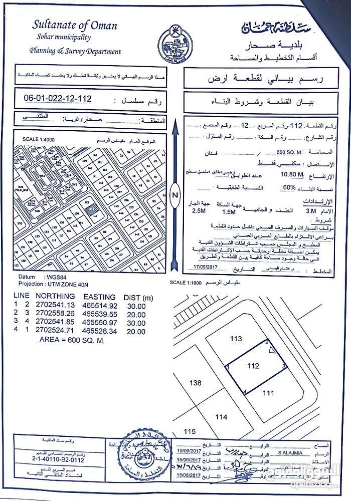 اراضي شبك في صحار  منطقه الجفره