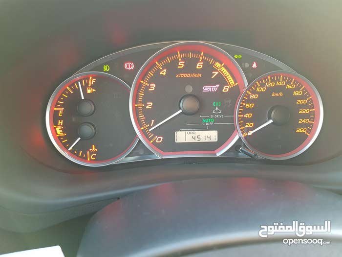 Used condition Subaru STI 2012 with 40,000 - 49,999 km mileage
