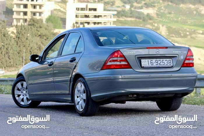 Mercedes Benz C 200 2005 For sale - Turquoise color