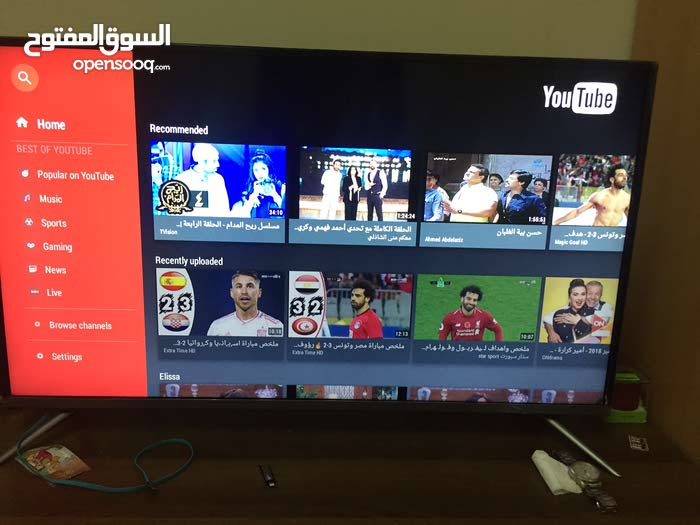 Smart HD led tv with wifi with warranty