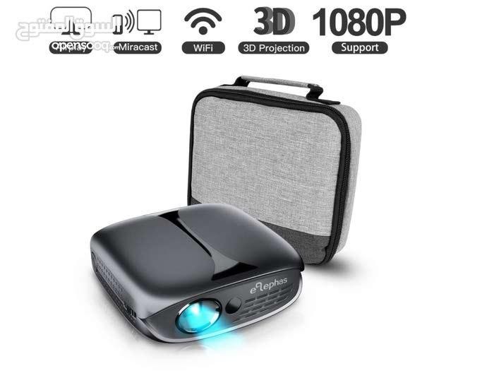جهاز بروجيكتر mini WIFI & 3D