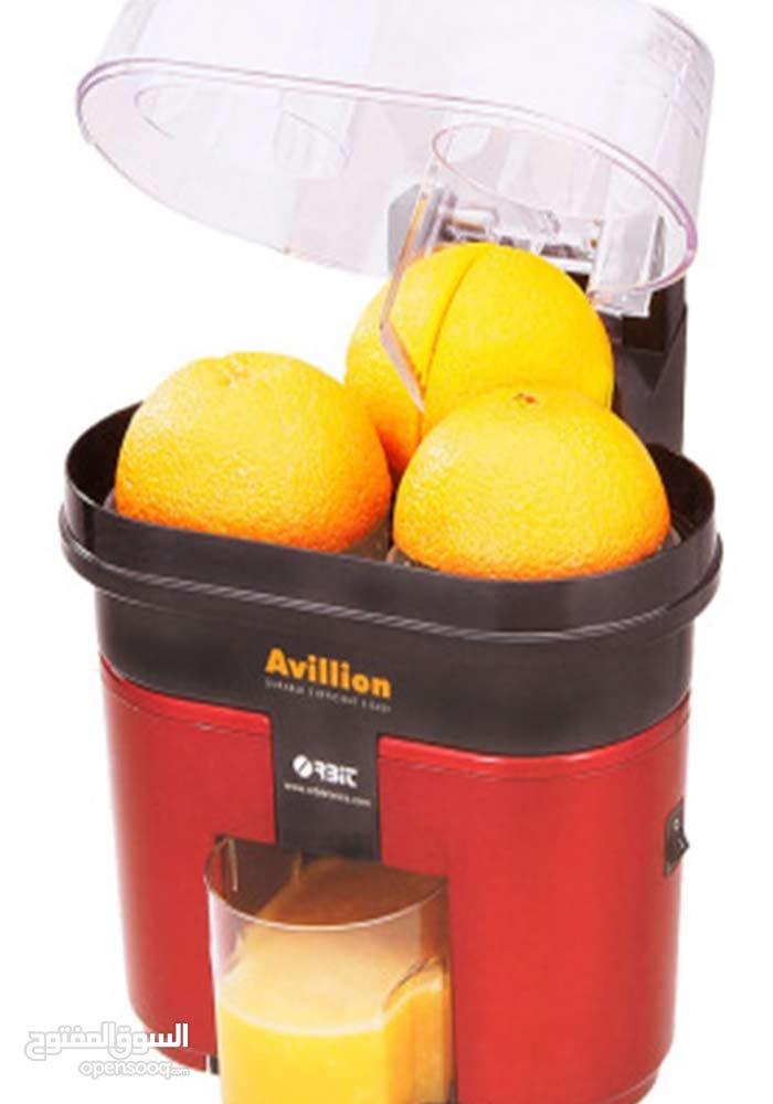 عصارة البرتقال مع خاصية التقطيع